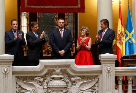 Adrián Barbón toma de posesión presidente