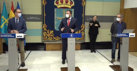 Adrián Barbón zarru d'Asturies II