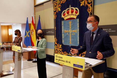Ana Cárcaba, Melania Álvarez y Pablo Ignacio Fernández Muñiz modificación 4+