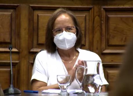 Ana María Cano homenaxe aplausu