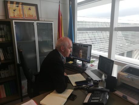Antón García xunta telemática Ministeriu de Política Territorial y Función Pública