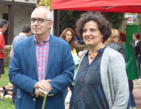 Antón García y Berta Piñán