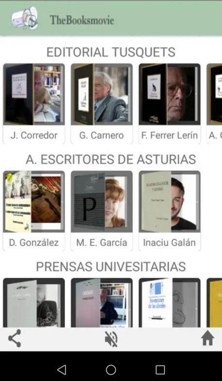 The Booksmovie crea una aplicación pa sentir poesía nel móvil