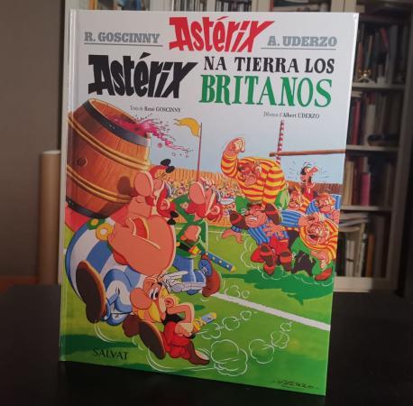 'Astérix na tierra los britanos'