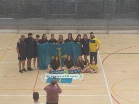 La OK Lliga femenina va contar con trés equipos asturianos