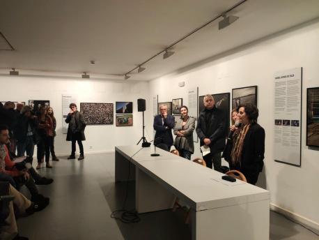 Berta Piñán inauguración XVI 'Encuentros Fotográficos de Gijón'