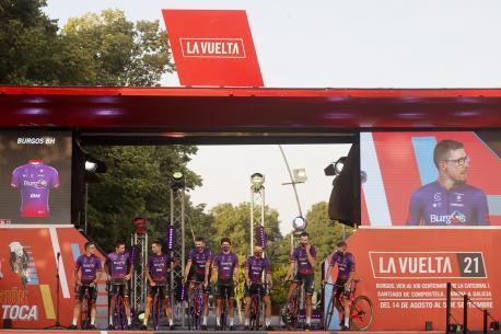Burgos-BH en La Vuelta 21