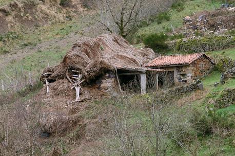 Cabaña en La Pornacal desaniciada