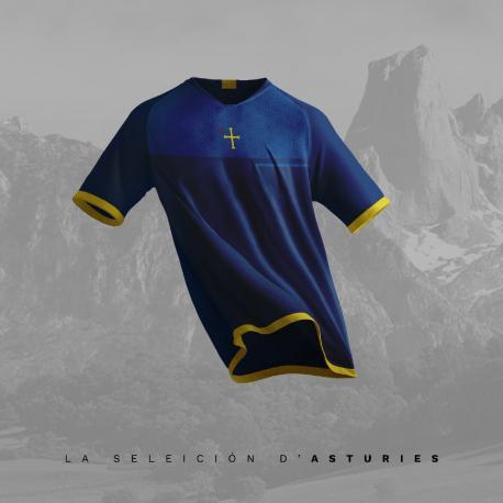 Camiseta seleición asturiana La Llegra