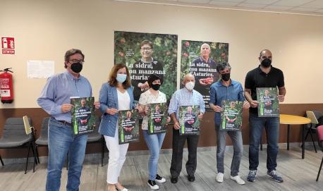 Campaña branu DOP Sidra d'Asturies 'La sidra, con mazana d'Asturies'