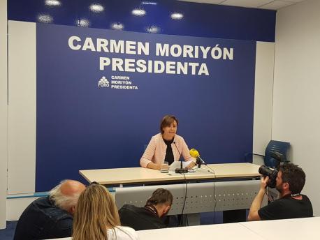 Carmen Moriyón renuncia