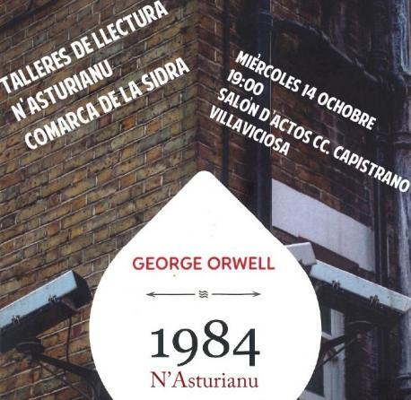 Cartelu alcuentru con llectores Villaviciosa '1984' reprogramáu