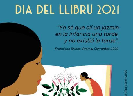 Cartelu asturianu Día del Llibru 2021 ministeriu