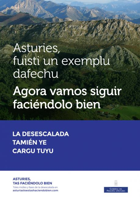 Cartelu 'Asturies, tas faciéndolo bien'