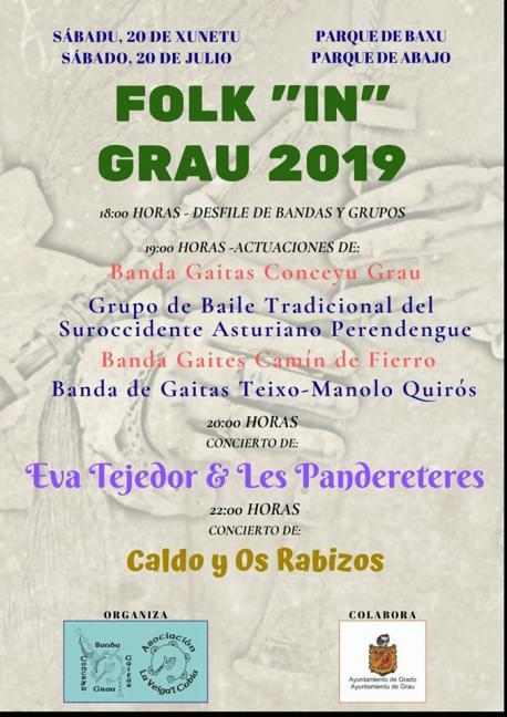 Cartelu Folk 'in' Grau 2019