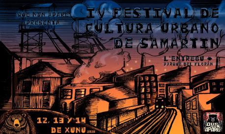 Cartelu IV Festival de Cultura Urbano de Samartín
