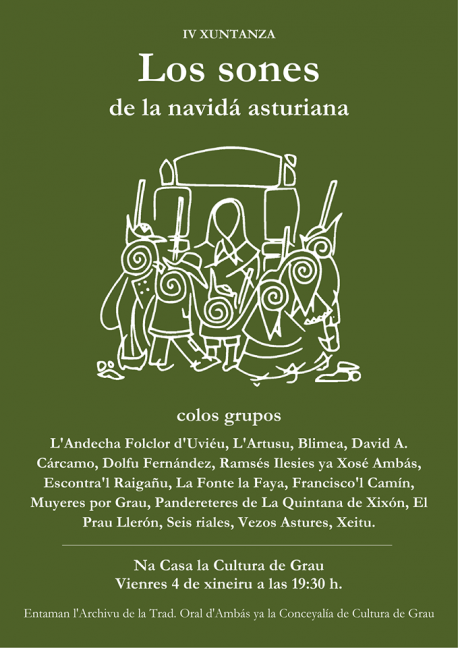 Los sones de la Navidá asturiana aporten a Grau