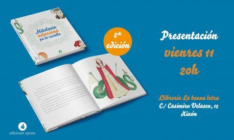 El llibru 'Mitoloxía pa rapacinos y rapacines' cuenta con una segunda edición más inclusiva