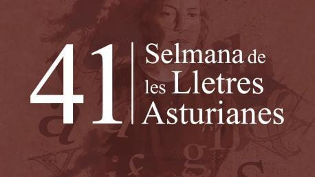 Cartelu XLI Selmana de les Lletres Asturianes RPA