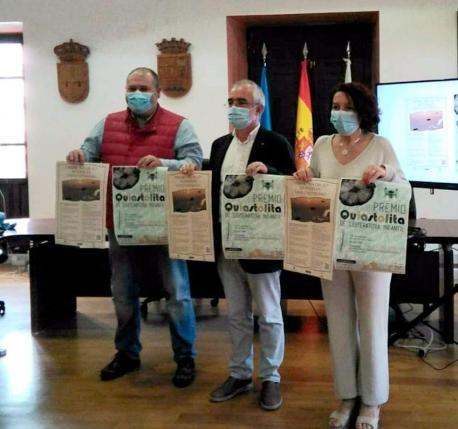 César Álvarez Fernández, Antón García y Cecilia Pérez Sánchez