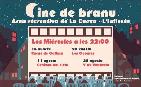Cine de branu en Piloña Les Ablanes