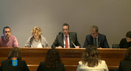 Comisión de Reglamentu designación Ponencia
