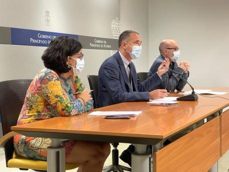 Concepción Saavedra, Pablo Ignacio Fernández Muñiz y Miguel Ángel Prieto toques de queda 4+
