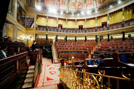 Congresu aprobación sesta prórroga estáu d'alarma