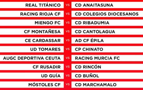 Crucies ronda previa Copa 2020-2021