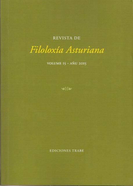 La Revista de Filoloxía Asturiana llega al númberu 15