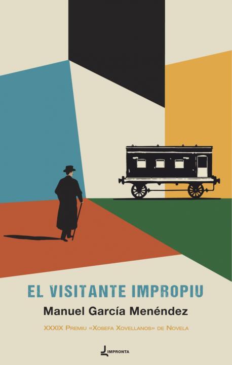 Cubierta 'El visitante impropiu' de Manuel García Menéndez