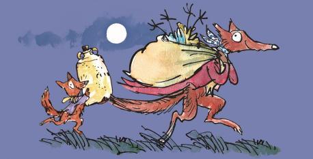 Cubierta 'El xenial Don Raposu' de Roald Dahl