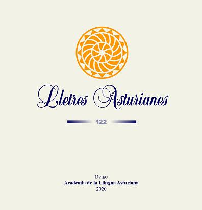 Cubierta 'Lletres Asturianes' 122