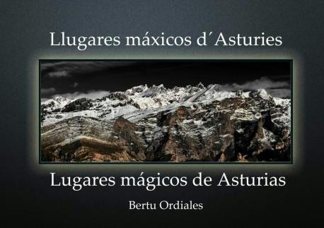Cubierta 'Llugares máxicos d'Asturies' de Bertu Ordiales