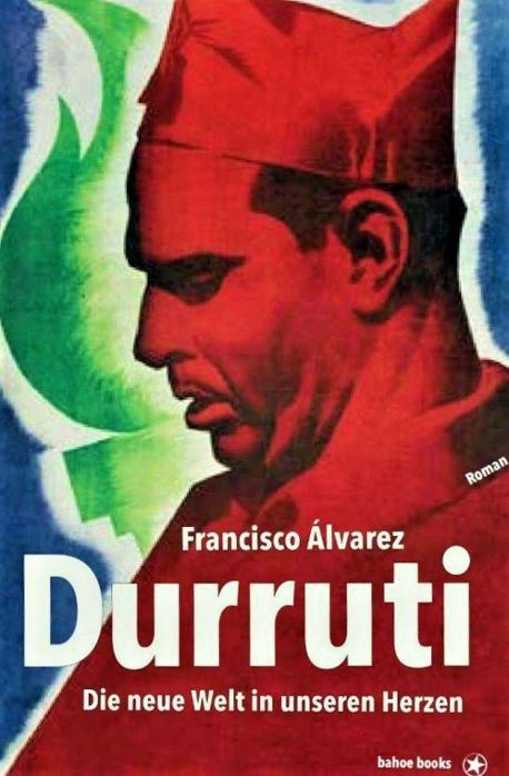 Cubierta 'Lluvia d'agostu' n'alemán 'Durruti'