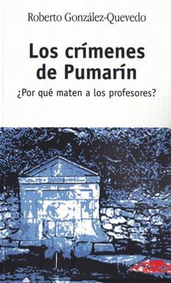 Cubierta 'Los crímenes de Pumarín' de Roberto González-Quevedo