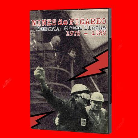 Cubierta 'Mines de Figareo. Memoria d'una llucha (1978-1980)'