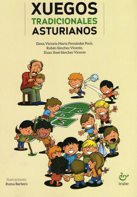 Cubierta 'Xuegos tradicionales asturianos' Fundación Nueva Asturies