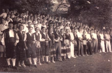 Danza añu 1928, en El Bosque (Nueva)