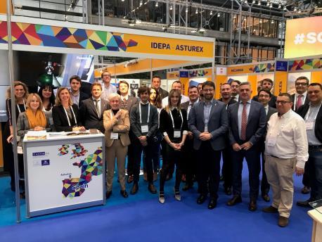 Delegación asturiana nel Wind Europe Offshore 2019
