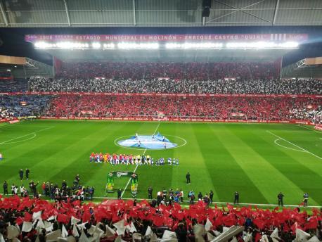 Derbi Sporting 1-0 Uviéu (25 de marzu de 2019) reducida