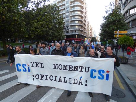 Manifestación Día de les Lletres 2019
