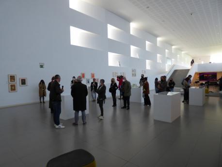 Esposición 'Nel Amaro-Postal Visual' en LLABoral