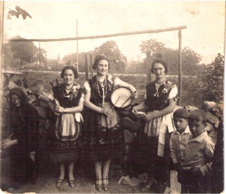Aldeanes añu 1929