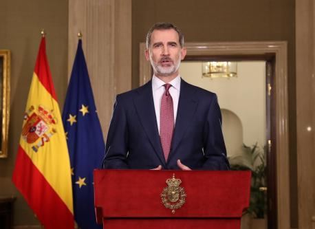 Felipe VI discursu coronavirus