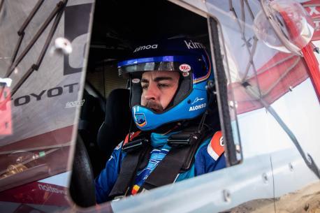 Fernando Alonso raid