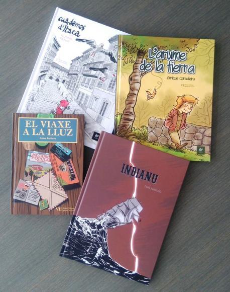 Ganadores del Premiu Alfonso Iglesias de cómic