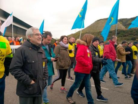 Gaspar Llamazares marcha Alcoa