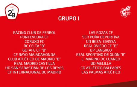 Los equipos asturianos de Segunda B, perxudicaos al pasar al grupu 1
