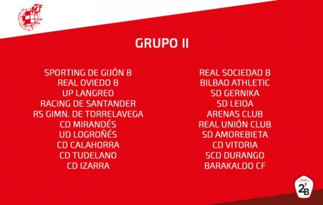 Grupu 2 de la Segunda División B 2018-2019